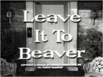 Leave it to Beaver words